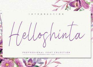 Helloshinta Handwritten Font