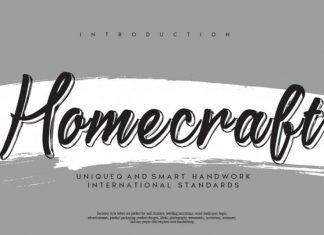 Homecraft Script Font