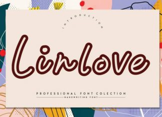 Linlove Display Font