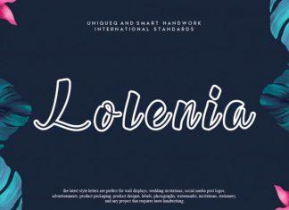 Lolenia Script Font