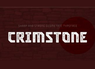 Crimstone Display Font
