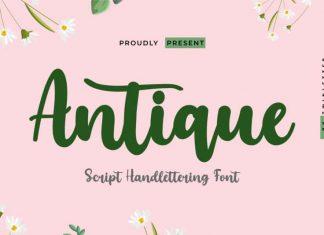 Antique Script Font