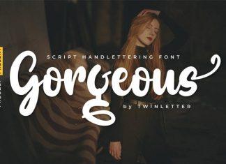 Gorgeous Script Font