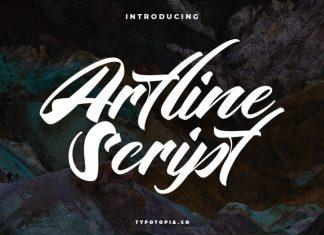 Artline Script Font