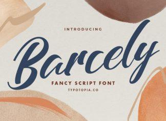 Barcely Script Font