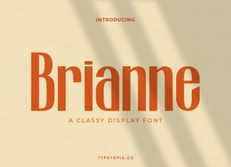 Brianne Display Font