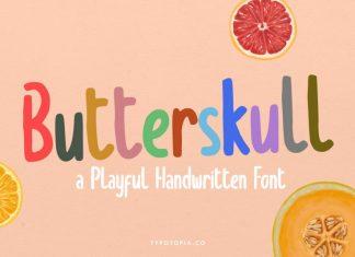 Butterskull Handwritten Font