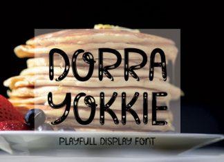 Dorra Yokkie Display Font