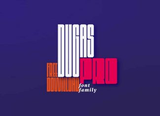 Dugas Pro Display Font