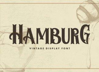 Hamburg Vintage Style Font