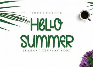 Hello Summer Display Font