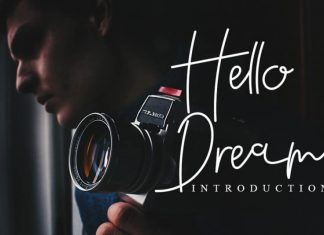 Hello Dream Handwritten Font
