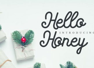 Hello Honey Handwritten Font
