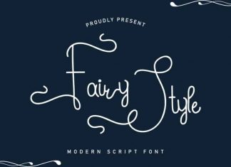 Fairy Style Handwriting Font