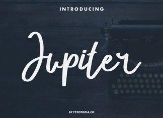 Jupiter Fancy Script Font