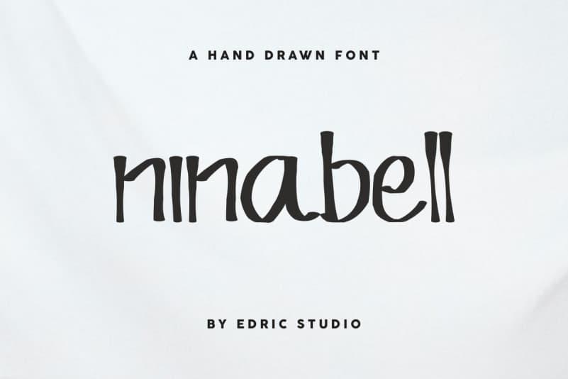 Ninabell Hand Drawn Font