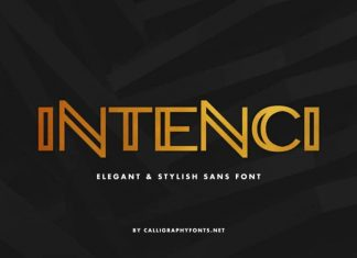 INTENCI Display Sans Serif Font
