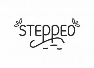 Stepped Display Font