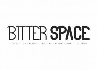 Bitter Space Sans Serif Font
