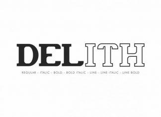 Delith Slab Serif Font