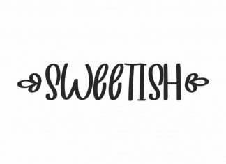 SWEETISH Font Duo