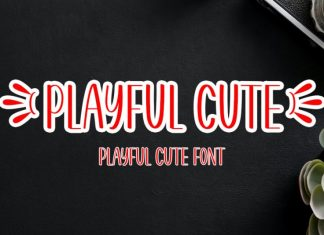 Playful Cute Display Font