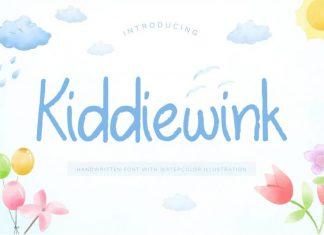 Kiddiewink Handwritten Font