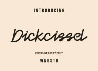 Dickcissel Monoline Font