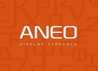 Aneo Sans Serif Font