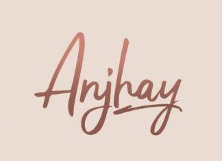 Anjhay Script Font