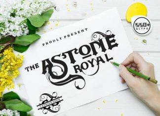 Astone Royal Blackletter Font