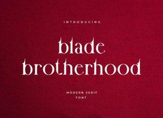 Blade Brotherhood Serif Font
