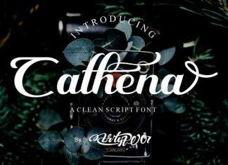 Cathena Script Font