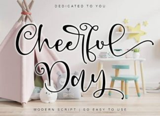 Cheerful Day Calligraphy Font