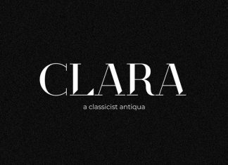 Clara Antiqua Display Font