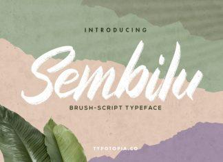 Sembilu Brush Font