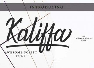 Kaliffa - Script Font