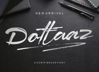 Dottaz Brush Font