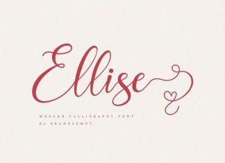 Ellise Calligraphy Font