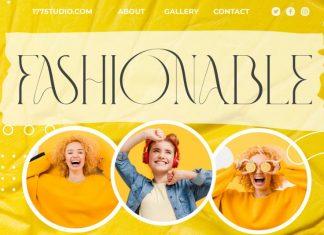 Fashionable – Elegant Serif Font