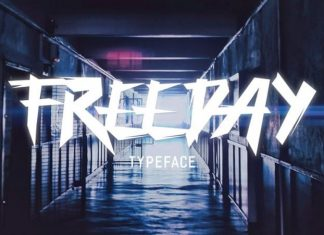 Freeday Brush Font