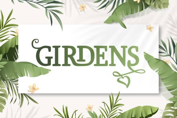 Girdens Display Font