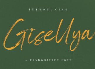 Gisellya Brush Font