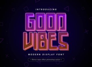 Good Vibes Display Font