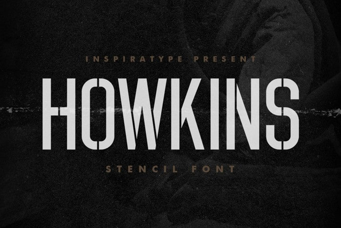 HOWKINS Display Font