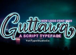 Guttawa Script Font