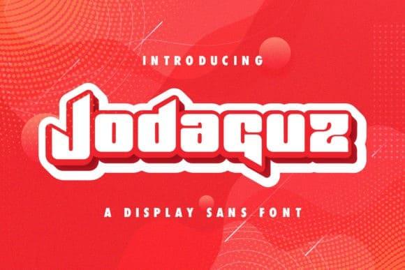 Jodaguz Display Font