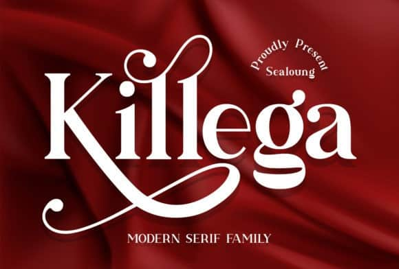 Killega Serif Font