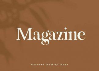 Magazine Serif Font
