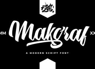 Makgraf Script Font